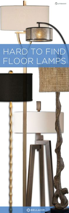 Browse a wide selection of Uttermost floor lamps for sale, including arc, tripod and torchiere floor lamps in a variety of styles, sizes and materials. Enjoy Free Shipping on all these floor lamps.