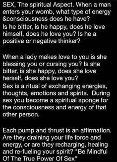 sexual energy exchange