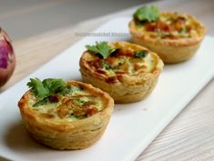 Curry Chicken Tart