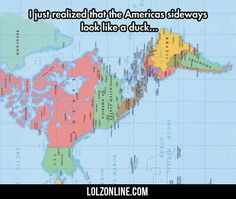 I Just Realized That The Americas Sideways... #lol #haha #funny
