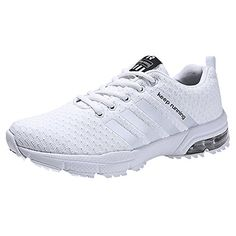 adc98b58d39 HMIYA Women Men Casual Sports Running Shoes Air Trainers Jogging Fitness Shock  Absorbing Gym Athletic Sneakers