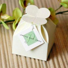 Ivory Petal Truffle Box