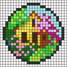 Cross Stitch Art, Cross Stitching, Cross Stitch Embroidery, Cross Stitch Patterns, Graph Paper Drawings, Graph Paper Art, Pixel Art, Melt Beads Patterns, World Map Outline