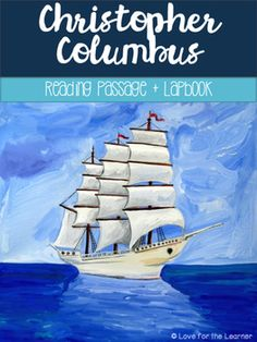 Christopher Columbus Passage and Lapbook