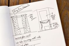 I love the idea of having a note book full of ideas just about decorating your new home!