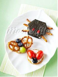Image result for bug shaped food