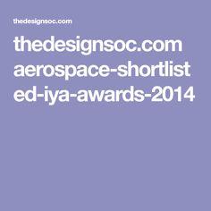 thedesignsoc.com aerospace-shortlisted-iya-awards-2014