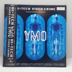 Yellow Magic Orchestra: Hi-Tech Video/No Crime [ALLA-9702] Japan Music Laserdisc