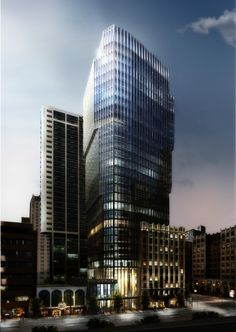 Harry Gugger Studio's 'The Exchange' to Rise in Vancouver, Canada