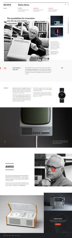 Dieter Rams Landing Page – SiteUp