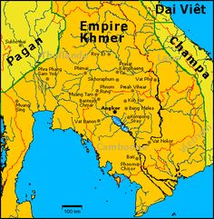 ancient cambodia history   Southeast Asia circa the 1200s