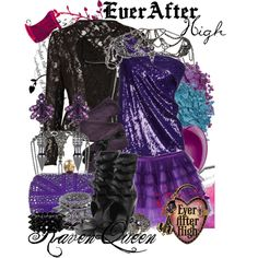 """Ever After High : Raven Queen"" by missm26 on Polyvore"
