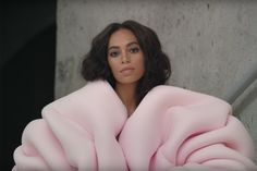 "Solange Knowles in the music video for ""Cranes in the Sky."" Courtesy of Solange Knowles."