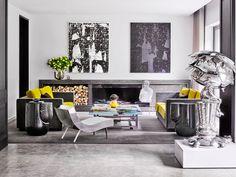 French architect and designer Charles Zana | Modern Sofas #modernsofas #livingroomfurnitureset