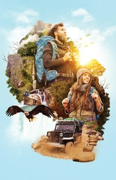 The Travelers on Behance