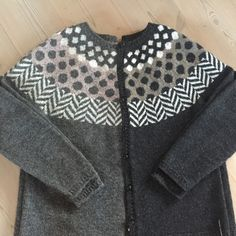 Knitting Wool, Fair Isle Knitting, Cardigan Pattern, Knit Cardigan, Icelandic Sweaters, Crochet Fashion, Sweater Fashion, Bunt, Knitwear