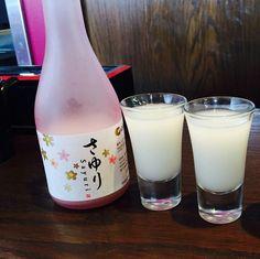 Sayuri Nigori Sake Soft and sweet dry finish~