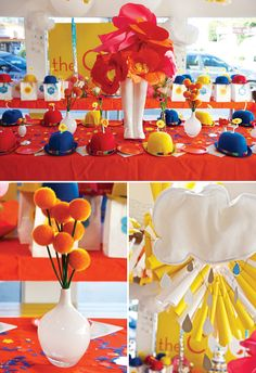 April Showers Bring May Flowers Birthday Party-- cute for a Bridal Shower too !