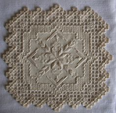 IMG_7404 | Bruce Wahl, Hardanger Embroidery | anderskj | Flickr Hardanger Embroidery, Embroidery Stitches, Embroidery Patterns, Cross Stitches, Types Of Embroidery, Learn Embroidery, Bordados E Cia, Drawn Thread, Hello Kitty Wallpaper