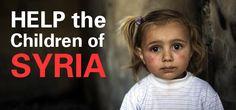Helfen Sie den Flüchtlingskindern!  Um die Kinder in und außerhalb Syriens schnell mit dem Nötigsten versorgen, ruft UNICEF dringend zu Spenden auf: http://www.unicef.at/unicef-hilft/nothilfe-syrien/