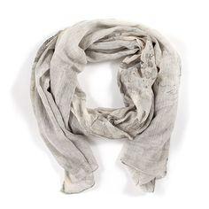 MyMy Copenhagen Ann scarf in marble print at Hennyandmy.com