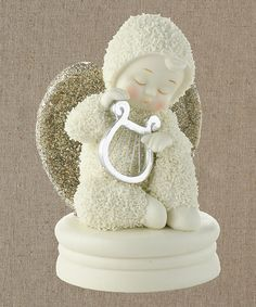 Look what I found on #zulily! Snowbabies Dream Heavenly Music Figurine by Department 56 #zulilyfinds