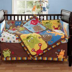 Bananafish® Baby Monster Plush Blanket - BedBathandBeyond.com