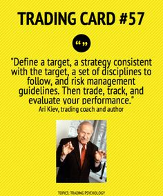 Trading Card #57: Trade, Track And Evaluate Your Performance by Ari Kiev