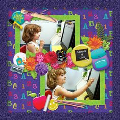 https://flic.kr/p/K2Zyck | Scrapbookcrazy Creations by Robyn - School Is Cool | One of my layouts created with School is Cool by Scrapbookcrazy Creations by Robyn. Available at Go Digital Scrapbooking (on sale for a limited time!).