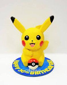 """Résultat de recherche d'images pour """"pikachu fondant cake"""""""