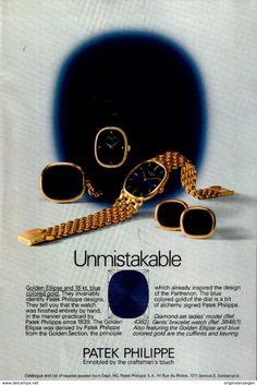 Original-Werbung/ Anzeige (USA) 1976 - PATEK PHILIPPE WATCHES / UHREN  - Ca. 160 X 230 Mm - Werbung