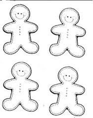 Image result for template for gingerman
