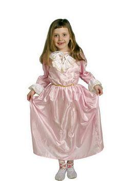 """7627 Prinzessinenkleid, rosa Eine weitere Ausführung des Verkaufshits """"Prinzessinnen-Kleid"""" – denn eine richtige Dame braucht auch eine Garderobe für jeden Anlass! ca. 100 x 30 cm"""
