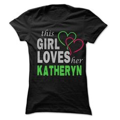This girl loves her KATHERYN - Awesome Name Shirt ! - #under armour hoodie #sweatshirt organization. LOWEST SHIPPING => https://www.sunfrog.com/LifeStyle/This-girl-loves-her-KATHERYN--Awesome-Name-Shirt-.html?68278