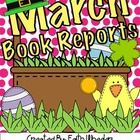 This is a set of four different book reports that can be used for March.      If you have any questions, please email me at presroom116@gmail.com. Al...