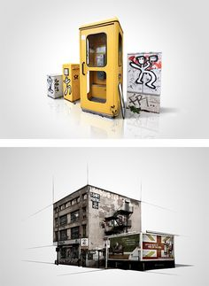 Urban Elements: Series by Boris Loder | Inspiration Grid | Design Inspiration