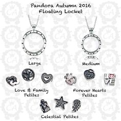 2ff008d6b3f Design your own photo charms compatible with your pandora bracelets. I want  the large with love   family petite set - Pandora Autumn 2016 Floating  Locket