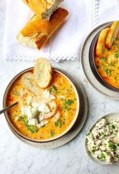 Slow-Cooker Shrimp & Crab Bisque