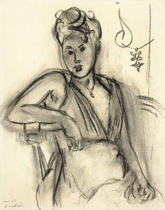 Femme assise (Michaela), Henri Matisse, 1943