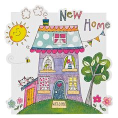 Buy Rachel Ellen Cloud Cuckoo Land New Home Card Online at johnlewis.com