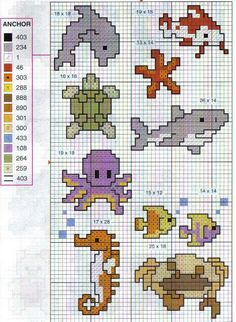 Templates for embroidery - Small motives Mini Cross Stitch, Cross Stitch Charts, Cross Stitch Designs, Cross Stitch Patterns, Cross Stitching, Cross Stitch Embroidery, Cross Stitch Freebies, Knitting Charts, Baby Design