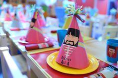 Beatles Party Hats
