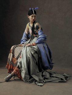 Wangy Xin Yu & The Peking Opera - Harper's Bazaar China May 2016photos Kiki Xue