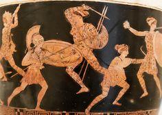 Amazonomachy - Classic Period (Metropolitan Museum, NYC)