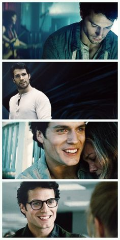 GIF set Clark Kent being adorable. I hate superman, but come on. He's a cutie pie.