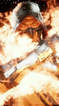 Scorpion Mortal Kombat, Mortal Kombat 3, Geeks, Mortal Kombat X Wallpapers, Spiderman Tattoo, Kung Fu Martial Arts, Mature Images, Batman Vs Superman, Cool Animations