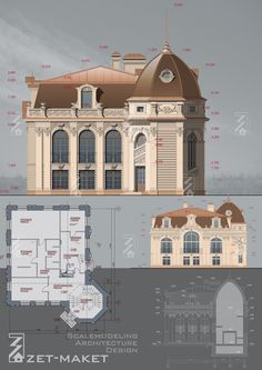 Private House Design.Moscow