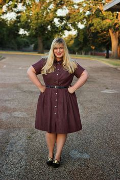 Idle Fancy: Miss Clara and the Autumn of 1000 Shirtdresses: A Sewing Challenge