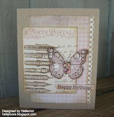 Hero Arts Cards, I Card, Scrap, Happy Birthday, Butterfly, Handmade Cards, Frame, Card Ideas, Design