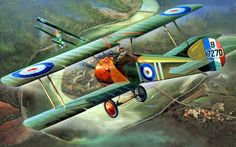 Sopwith Camel flown by Roy Brown ,209th Squadron